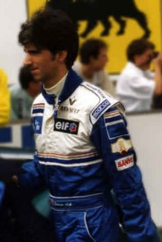 Damon Hill English F1 World Champion He and his father Graham the only Father and Son to win the F1 World Championship