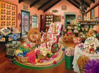 Quilting Yarn Fabric Shop by Hiroaki Shioya