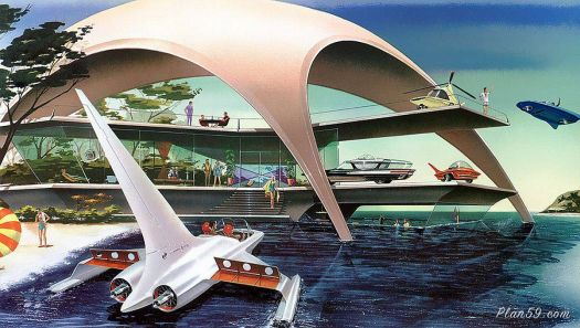 THEME ~ Boats, Cars, Planes & Trains: House of the Future