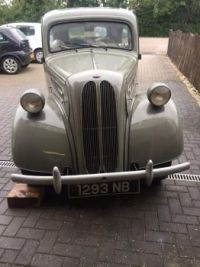 Our 1953 Ford Anglia getting ready for the road