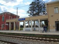 Paestum Train Station, Italy