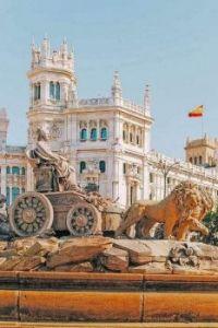 Cibeles Square, Madrid. Spain.  6718