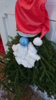 Fir tree Santa