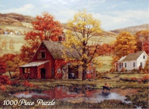 Fred Swan Autumn Friends