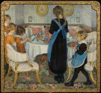 Elsa Backlund-Celsing (Swedish, 1880–1974), Coffee Time (ca 1916)
