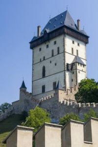 Czech Republic. Karlstejn castle
