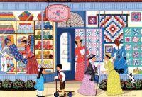 Sunbonnet Quilt Shop - 330