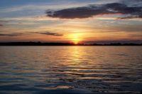 Sunset over Breitlingsee