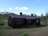 Låktjatåkka old trainstation  . Lapland Sweeden