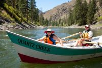 A Quartz Creek Dory On The Salmon River