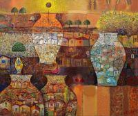 Mosaic Vases, Artist Valeri Tsenov