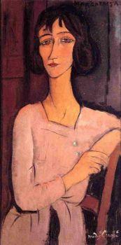 Marguerite Seated 1916  -  Amedeo Modigliani