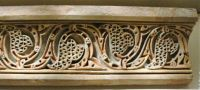 Cornice with running leaf pattern, Nishapur,  10th century