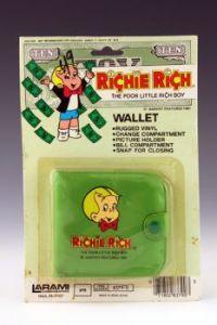 Richie Rich Wallet, green variant