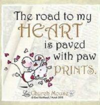 My heart is..