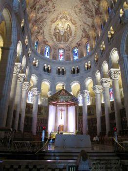 Interior of Sainte Anne de Beaupré