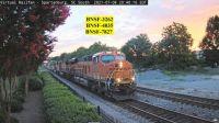 BNSF-3262, 4035, & 7827 northbound Spartanburg