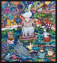 Ocean Tea-party by Lynda Bell
