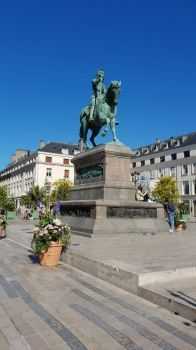 Statue in Orleans, France