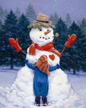 'Frosty' The Snowman #1