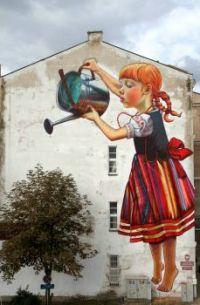 Polish mural