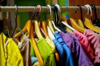 Clothing rainbow