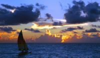 Sail Into The Sunset In Barbados