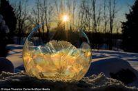 Frosty Snow Globe 1