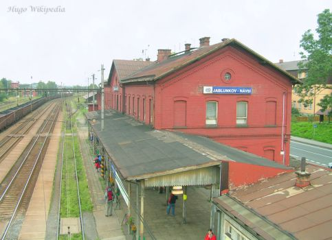 Jablunkov-Czech Republic railway-station