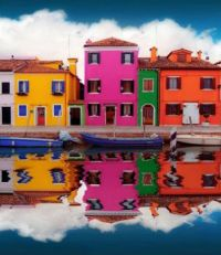 Burano on a Cloudy Day