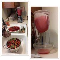 Processing Strawberries