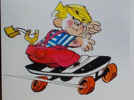 Dennis the Menace.(spunky & the bandit).