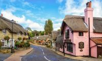 Old Village, Shanklin, Isle of Wight, UK
