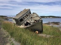 boat on Cottel's Island, NL