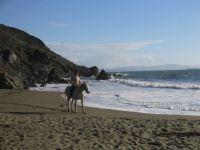 On the beach in No. California
