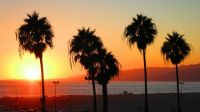 Santa Monica Sunset - L.A.