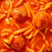 Chef BoyArDee Spaghetti & MeatBalls