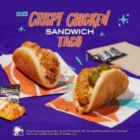 TacoBell: Crispy Chicken SandWich TaCo
