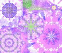 Purple and Pink Kaleidos: Small