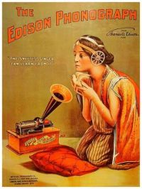 Vintage ad - The Edison Phonograph