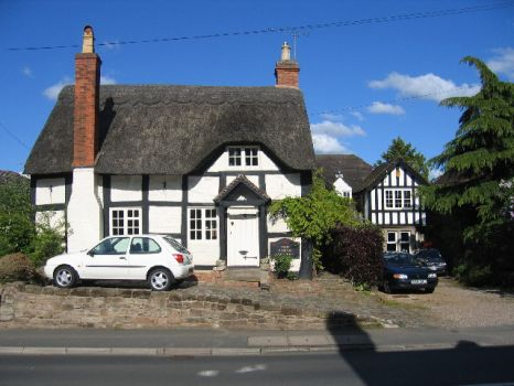 The Forge Cottage, Leek Wootton, Warwickshire.  Photo by David Stowell