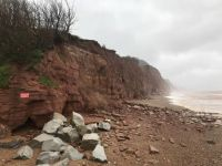 CliffCoast at Sidmouth, England