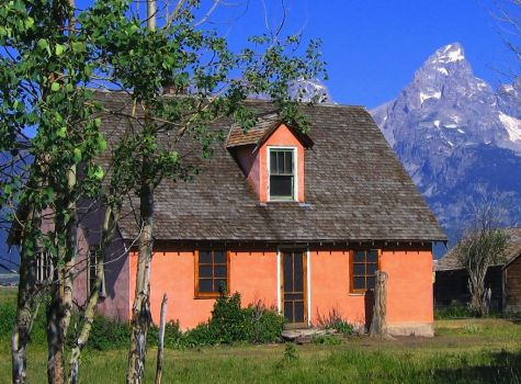 House in Grand Teton National Park