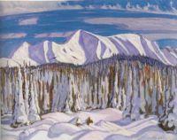 Snow  Scene, A.Y. Jackson
