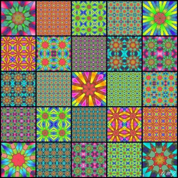 Kaleido Patterns :)) IV
