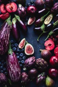 Purple & Red Produce