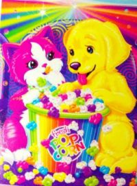 kitten and puppy lisa frank