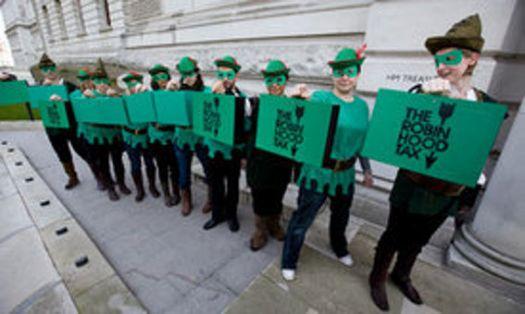 Robin Hood Tax has arrived!