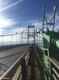 Top of Thousand Islands Bridge