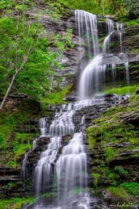 Cathedral Falls in Wild and Wonderful West Virginia
